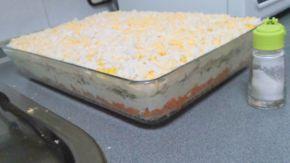 Снимка 8 от рецепта за Настъргана салата `Ники`