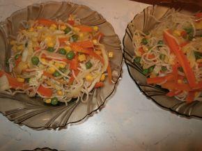 Снимка 3 от рецепта за Нудели със зеленчуци
