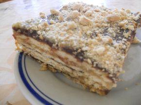 Снимка 5 от рецепта за Обикновена бисквитена торта