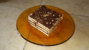 Снимка 9 от рецепта за Обикновена бисквитена торта