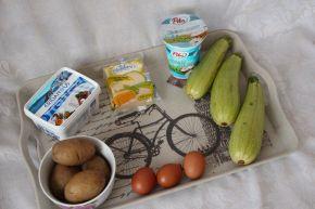 Снимка 2 от рецепта за Огретен от тиквички и картофи