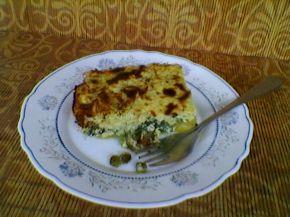 Снимка 6 от рецепта за Огретен от спанак, картофи, тиквички и грах
