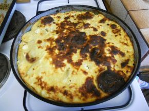 Снимка 3 от рецепта за Огретен с картофи и тиквички