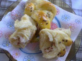 Снимка 3 от рецепта за Охлювчета с лионски салам