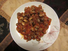 Снимка 2 от рецепта за Охлюви яхния