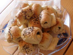 Снимка 2 от рецепта за Охлювчета с маслинка