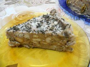 Снимка 3 от рецепта за Орехова торта с бисквити