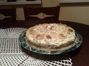 Снимка 2 от рецепта за Орехова торта с коняк