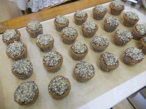 Снимка 2 от рецепта за Орехови мъфини
