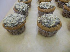 Снимка 4 от рецепта за Орехови мъфини