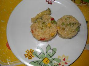 Снимка 2 от рецепта за Ориз с къри, соев сос и зеленчуци