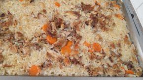 Снимка 2 от рецепта за Ориз с обезкостено пилешко месо