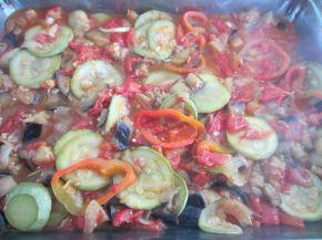 Снимка 2 от рецепта за Ориз със сирене и зеленчуци на фурна