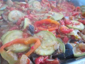 Снимка 3 от рецепта за Ориз със сирене и зеленчуци на фурна