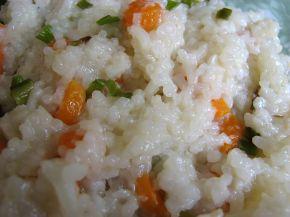 Снимка 1 от рецепта за Пържен ориз със зеленчуци