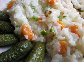 Снимка 2 от рецепта за Пържен ориз със зеленчуци