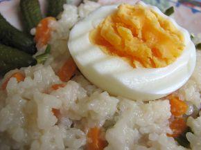 Снимка 3 от рецепта за Пържен ориз със зеленчуци