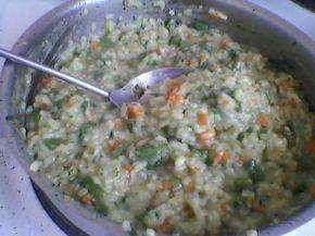Снимка 3 от рецепта за Оризов пудинг със зелен фасул