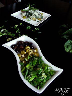 Снимка 3 от рецепта за Оризови спагети със спанак и песто