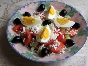 Снимка 1 от рецепта за Овчарска салата