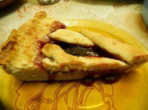 Снимка 3 от рецепта за Пай с конфитюр от вишни