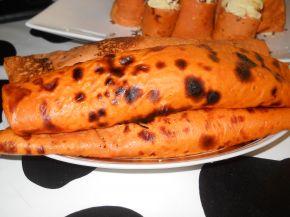 Снимка 3 от рецепта за Палачинки с доматено пюре и пълнеж от картофено пюре и сирене