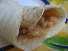 Снимка 1 от рецепта за Палачинки с ябълков пълнеж