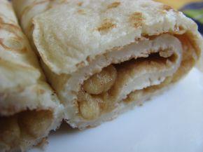 Снимка 2 от рецепта за Палачинки с ябълков пълнеж