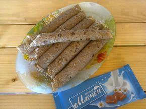 Снимка 3 от рецепта за Палачинки с какао, банан и шоколад