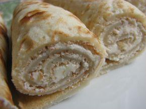 Снимка 1 от рецепта за Пачинки с крема сирене