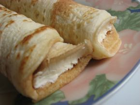 Снимка 3 от рецепта за Пачинки с крема сирене