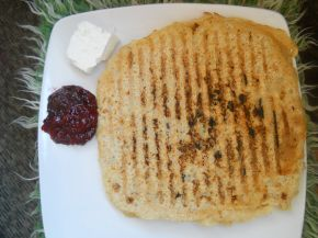 Снимка 2 от рецепта за Палачинки с пълнозърнесто брашно