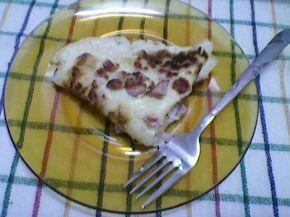 Снимка 2 от рецепта за Палачинки с шунка