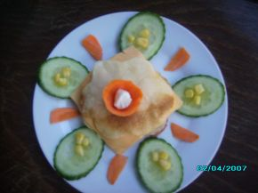 Снимка 2 от рецепта за Палачинков сандвич