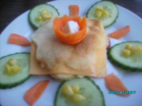 Снимка 4 от рецепта за Палачинков сандвич