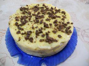 Снимка 3 от рецепта за Палачинкова торта с течен шоколад