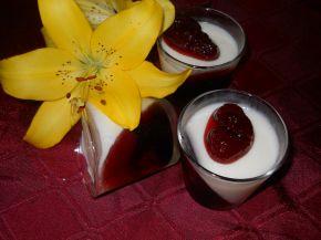 Снимка 2 от рецепта за Панакота с кисело мляко