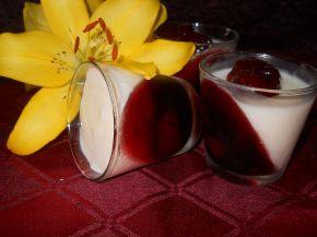 Снимка 3 от рецепта за Панакота с кисело мляко