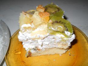 Снимка 5 от рецепта за Пандишпанена торта `Екзотик`