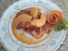 Снимка 2 от рецепта за Паниран грис с карамелени круши (ябълки)