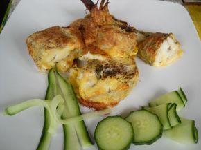 Снимка 3 от рецепта за Паниран хек на фурна