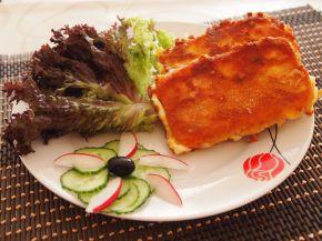 Снимка 3 от рецепта за Паниран кашкавал с шунка