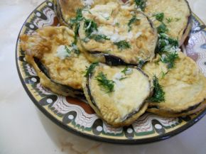 Снимка 2 от рецепта за Панирани патладжани