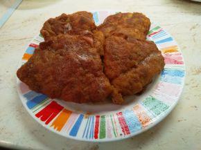 Снимка 3 от рецепта за Панирани свински шницели