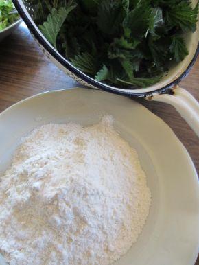 Снимка 3 от рецепта за Панирани връхчета от коприва