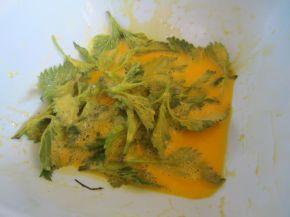 Снимка 4 от рецепта за Панирани връхчета от коприва