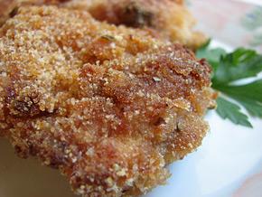 Снимка 2 от рецепта за Панирано пиле на фурна