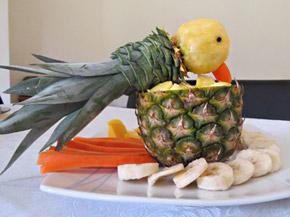 Снимка 1 от рецепта за Папагал от ананас