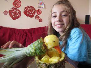 Снимка 4 от рецепта за Папагал от ананас