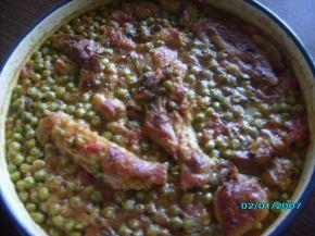 Снимка 2 от рецепта за Патешко с грах